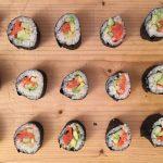 Simply scrumptious sushi