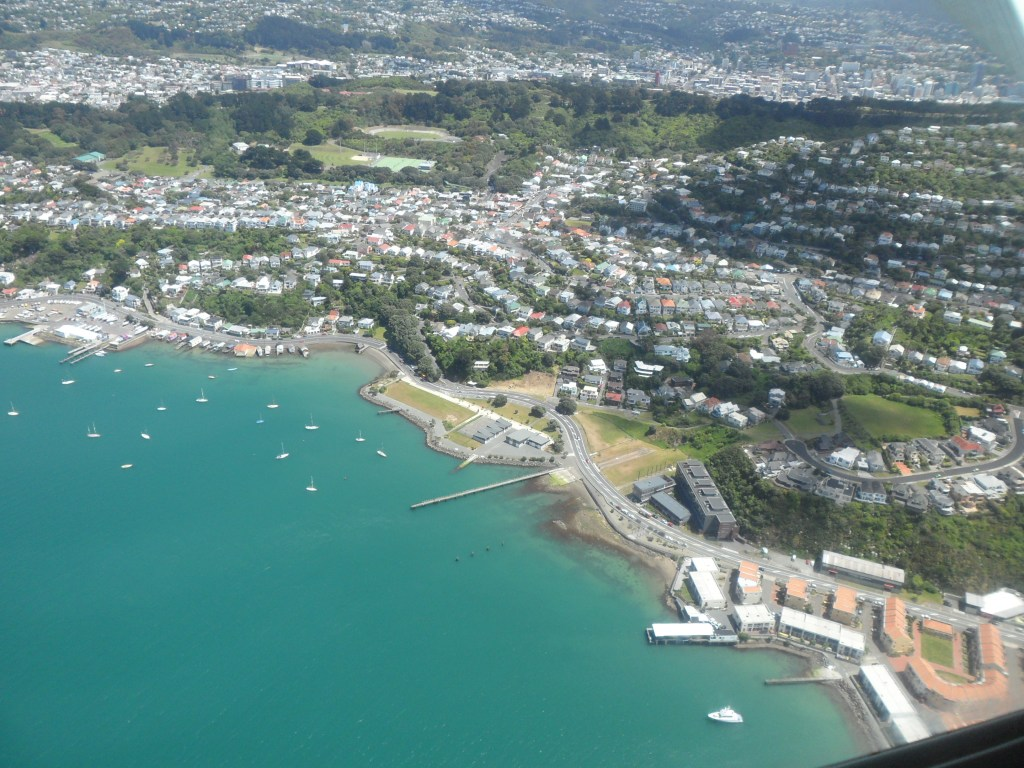 Stunning view of Wellington from above