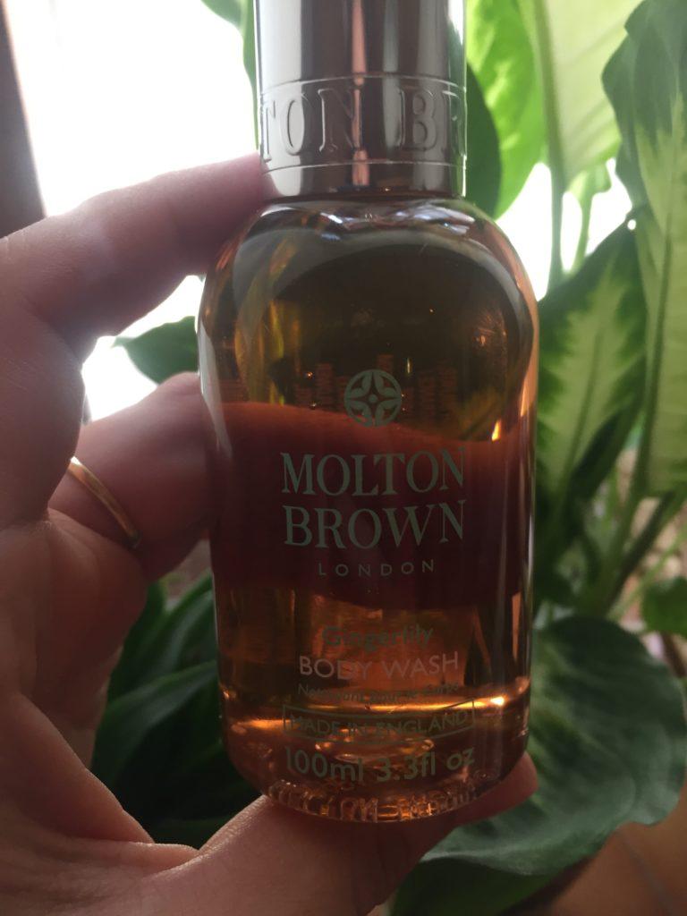 Molten Brown shower gel