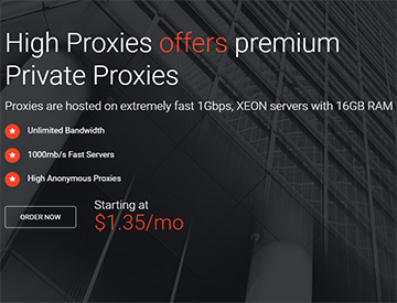Buy Private Proxies