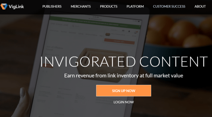 VigLink Powering Content Driven Commerce