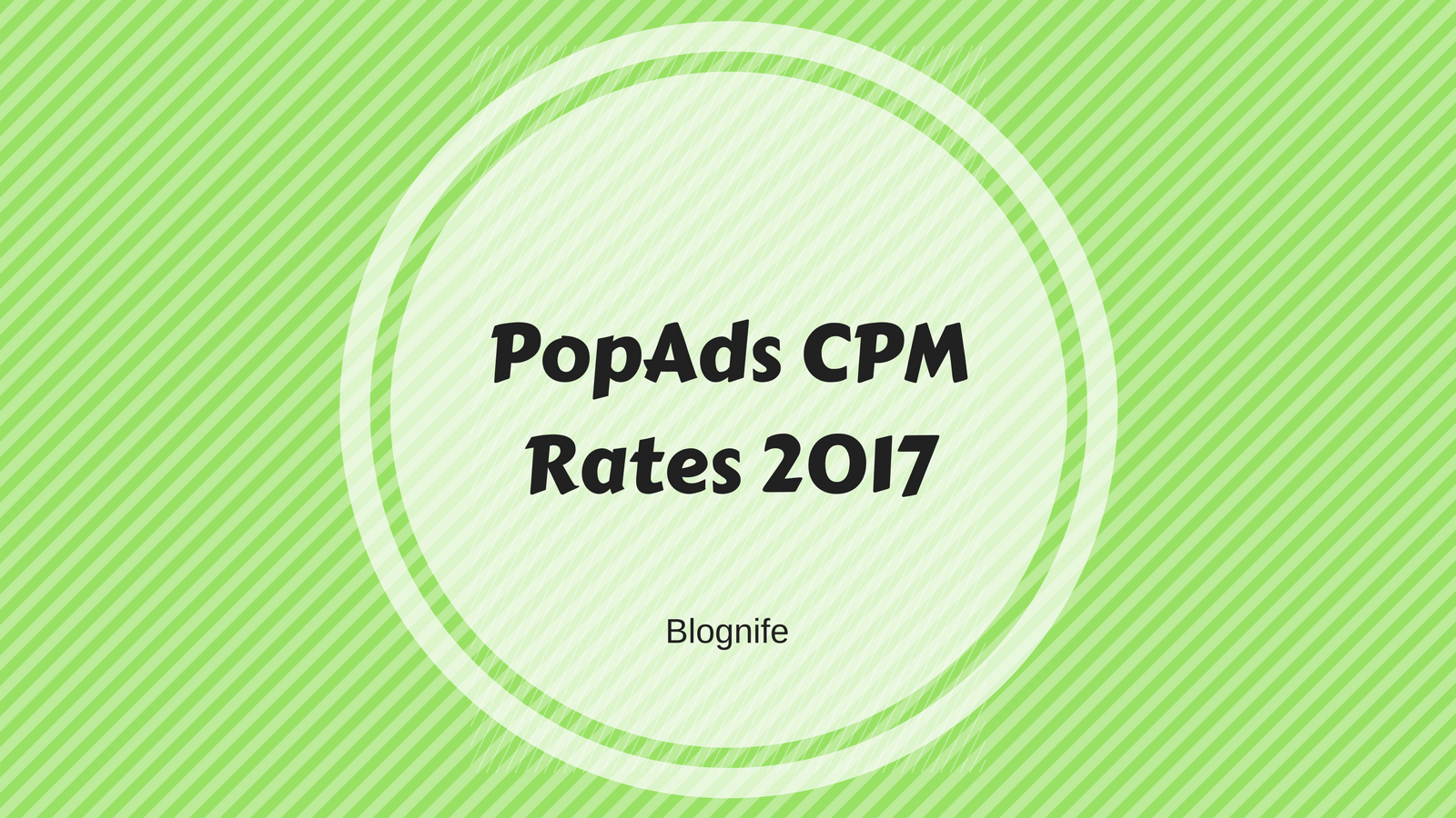 PopAds CPM Rates 2019