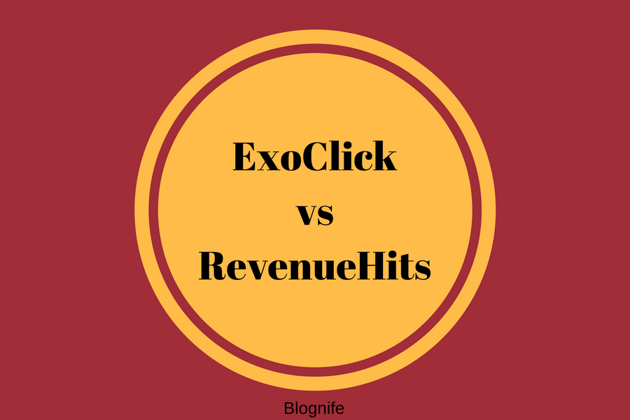 ExoClick vs RevenueHits- CPM Rates, Payments, and Earnings Report