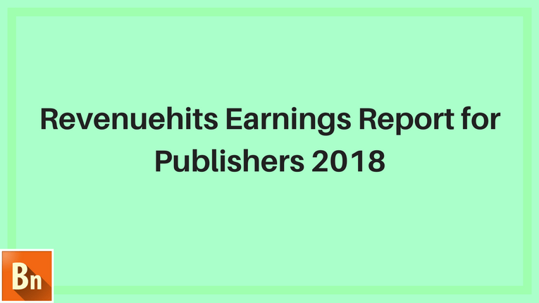 Revenuehits Earnings Report 2019