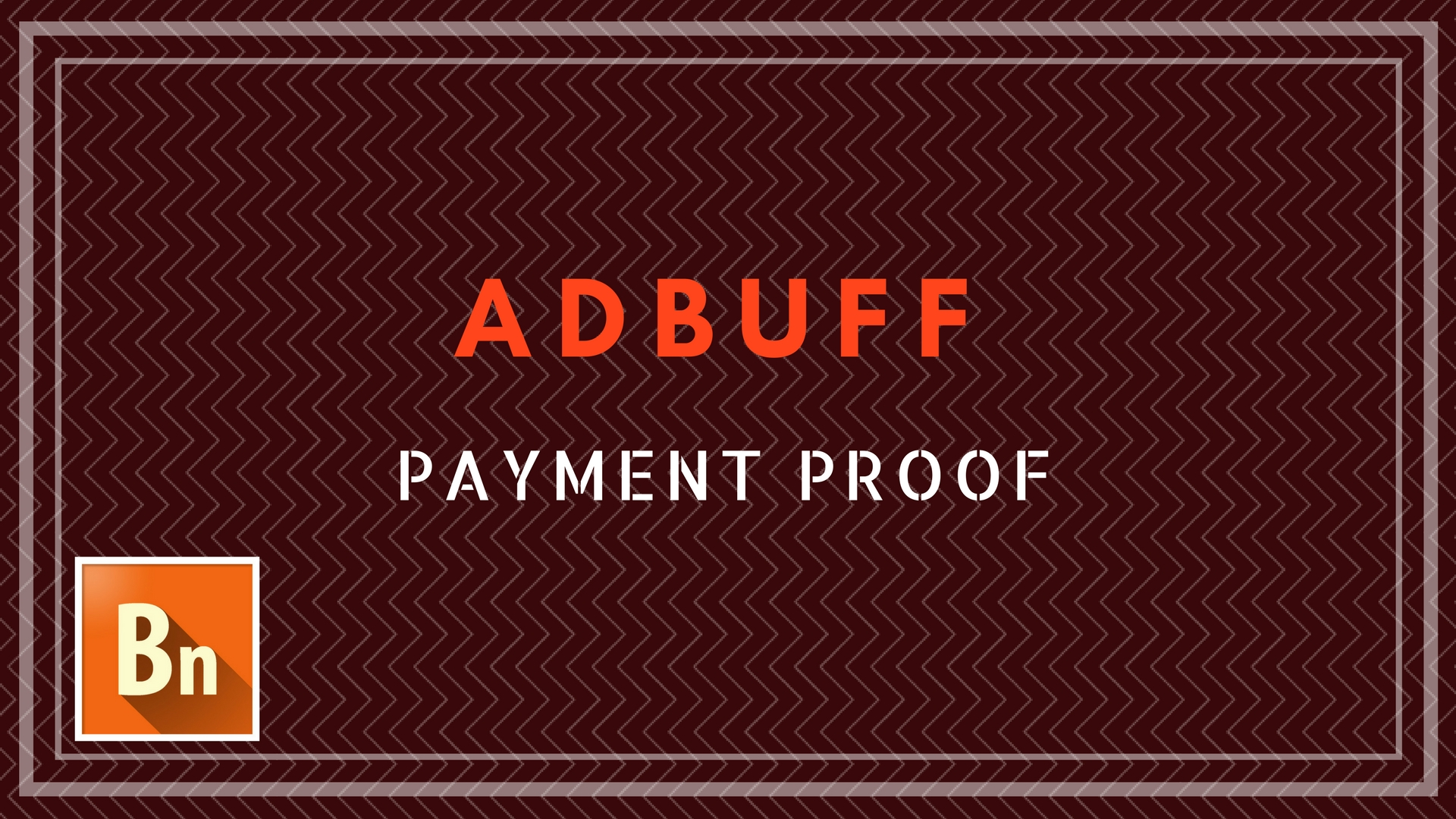 Adbuff Payment Proof for Publishers 2019