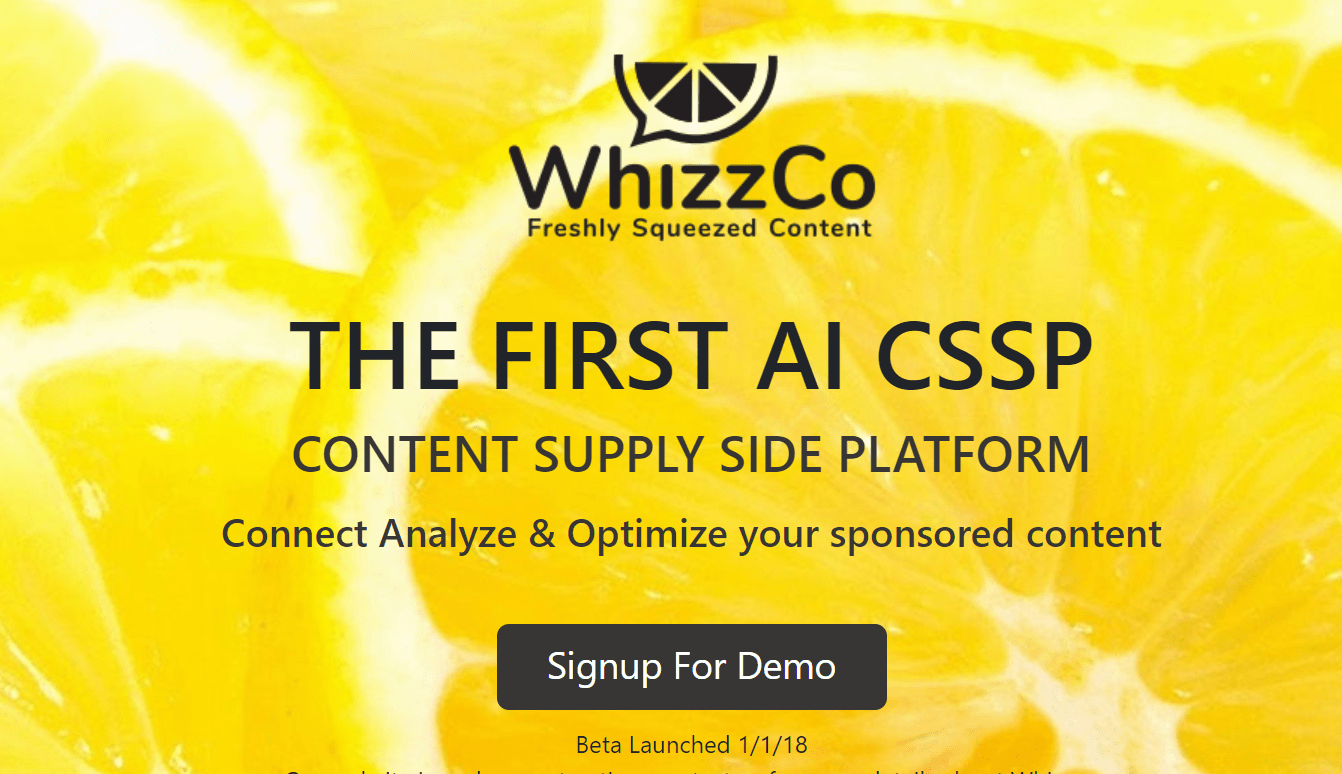 Whizzco Review 2018- Content SSP for Publishers