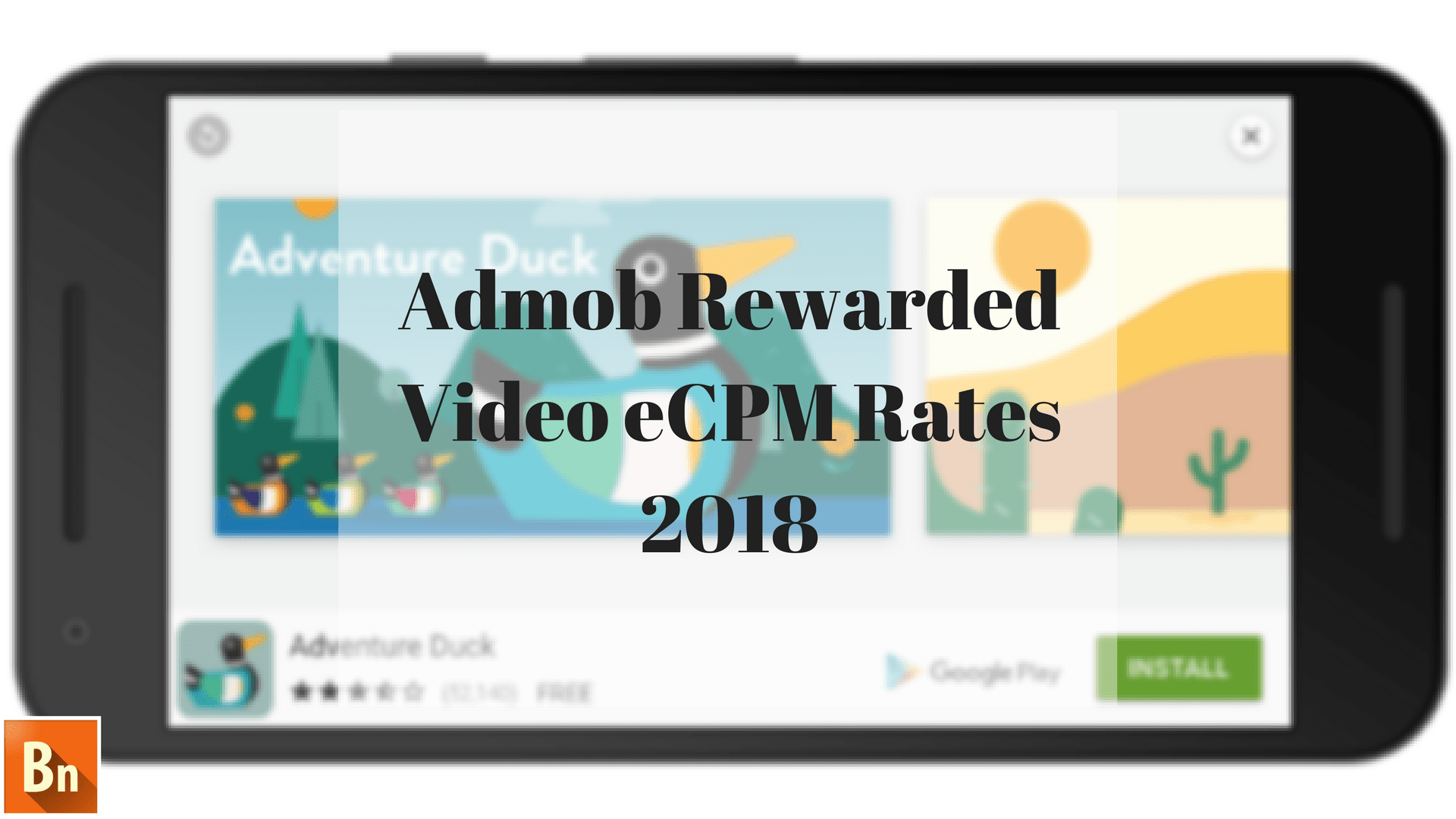 Admob Rewarded Video eCPM Rates 2018