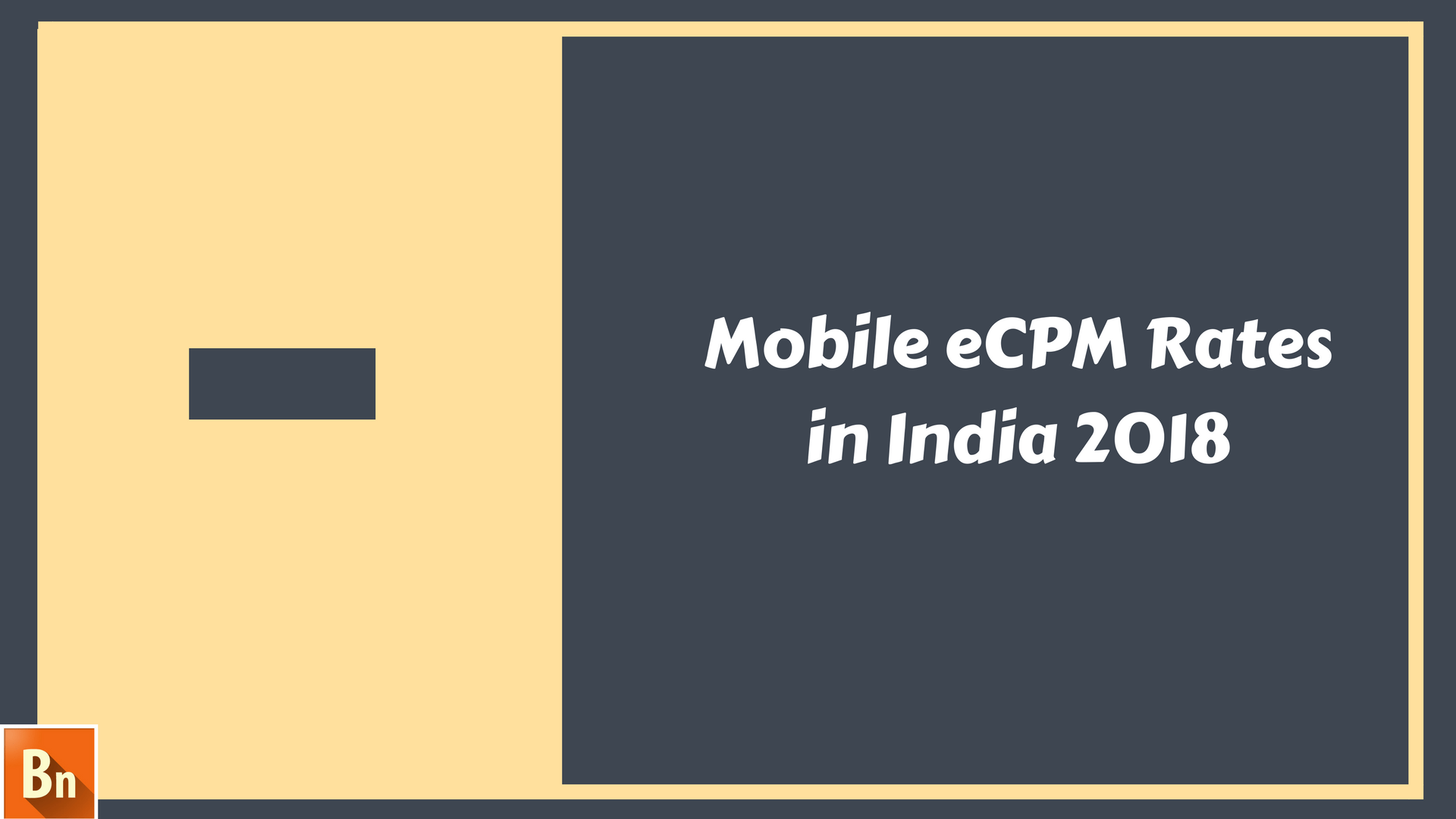 Mobile eCPM Rates in India 2018
