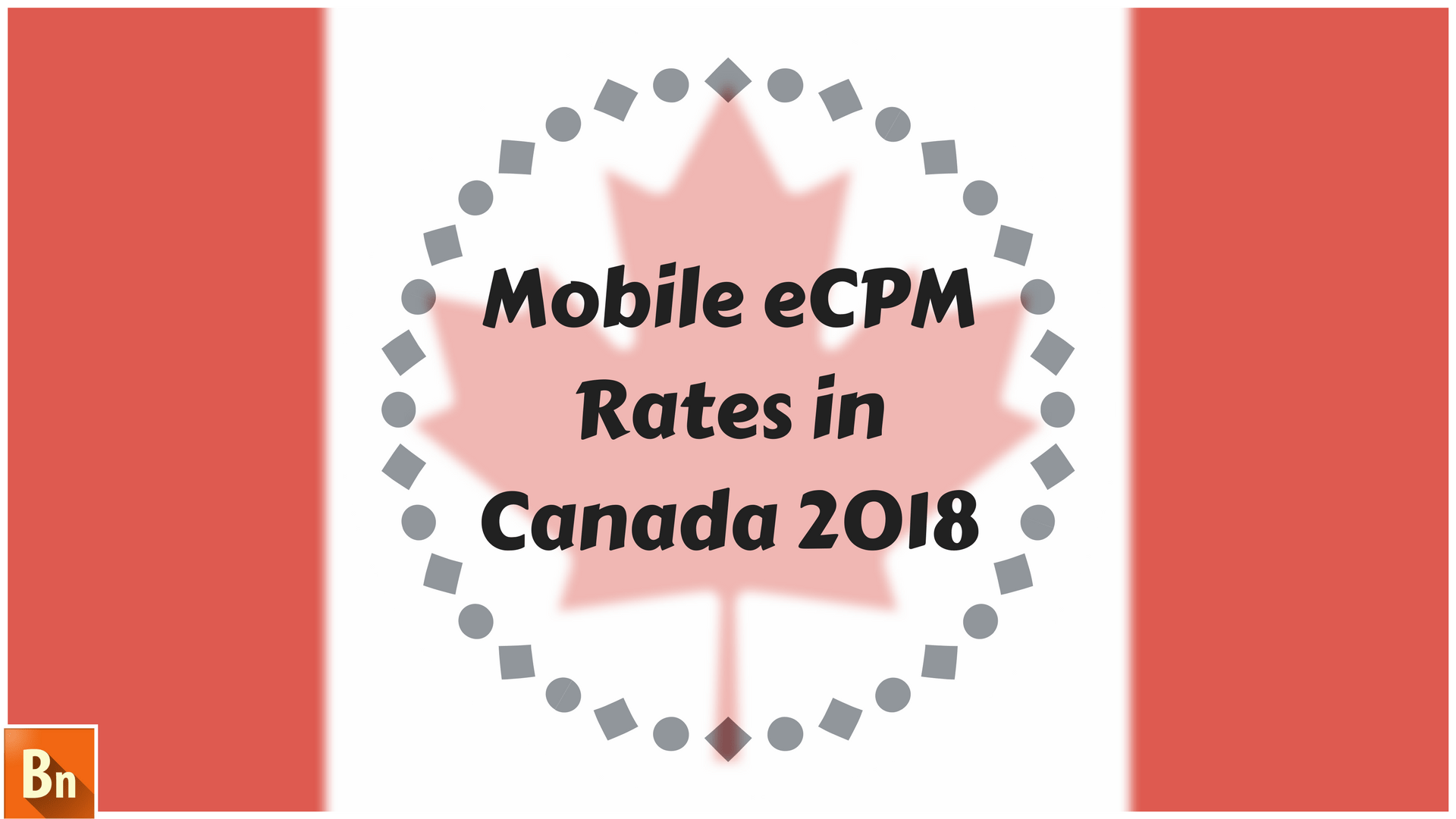 Mobile eCPM Rates in Canada 2018