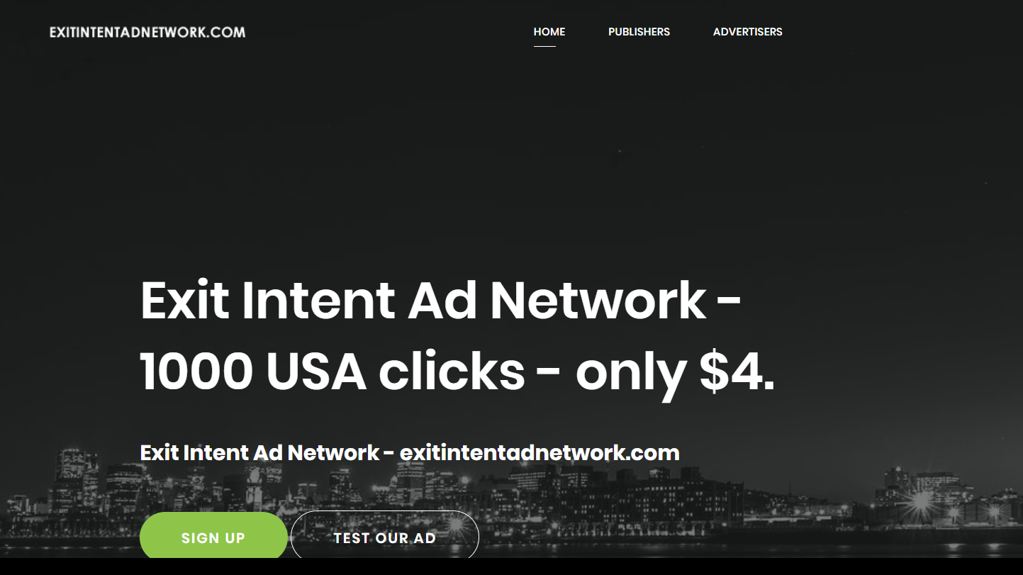 ExitIntentAdNetwork Review- Monetize your Exit Traffic