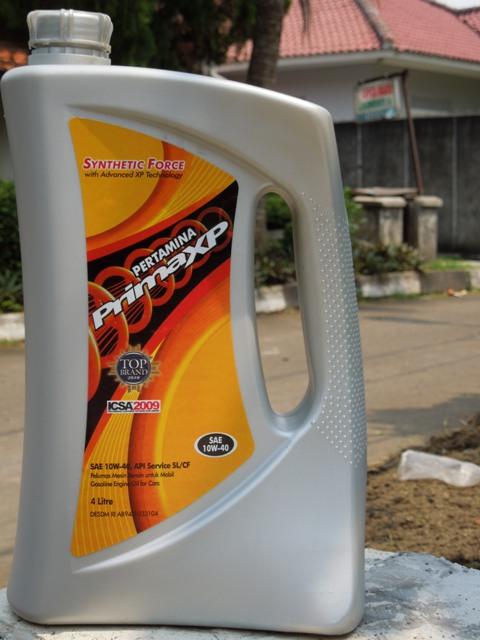 oli grand new avanza berapa liter vs veloz review pertamina prima xp 10w 40 value for money safety si
