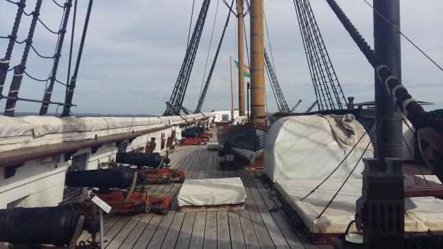 on bord