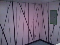 How to Paint A Wall: Lessons from Painting Stripes  The ...