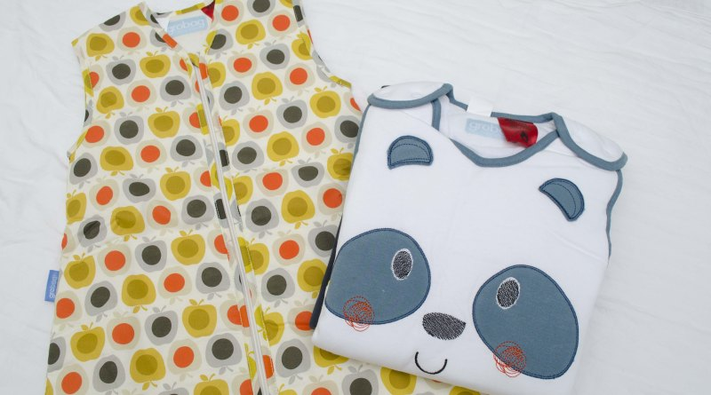 Grobag, orla kiely, apple, panda, panda-monium