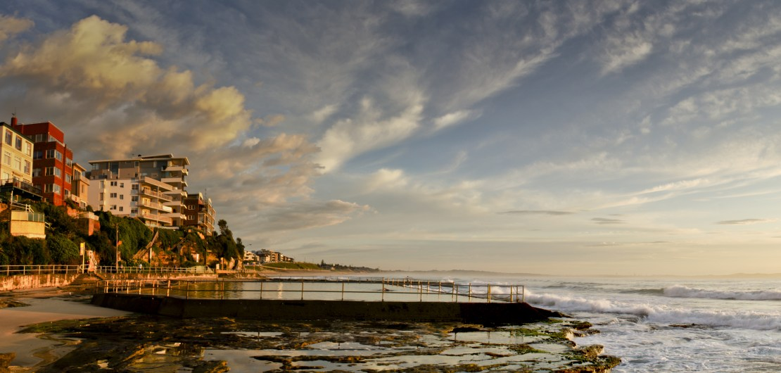 Cronulla Baths Sunrise