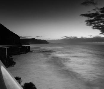 Sea Cliff Bridge - tone deaf