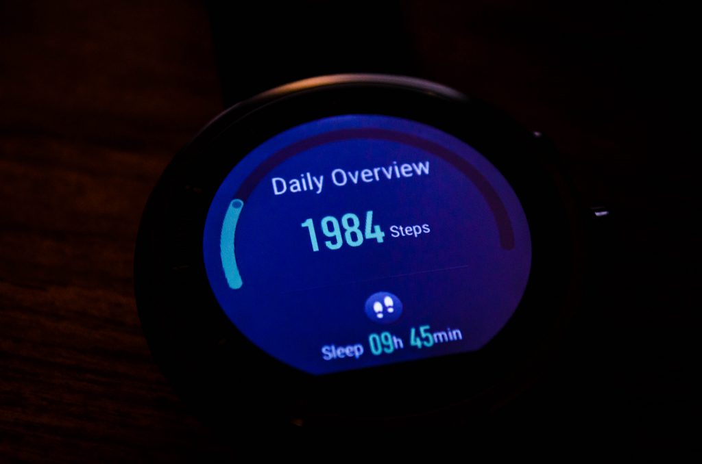 Amazfit Stratos Daily Overview