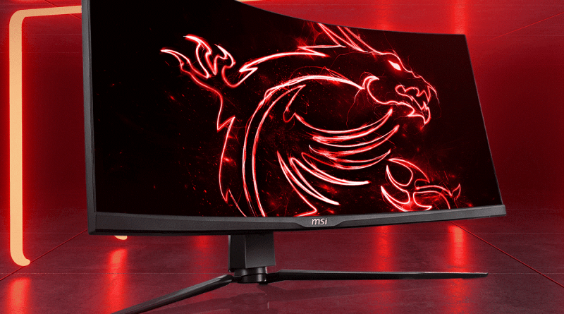 MSI 34 ARTYMIS 343CQR Ultrawide Gaming Monitor 2