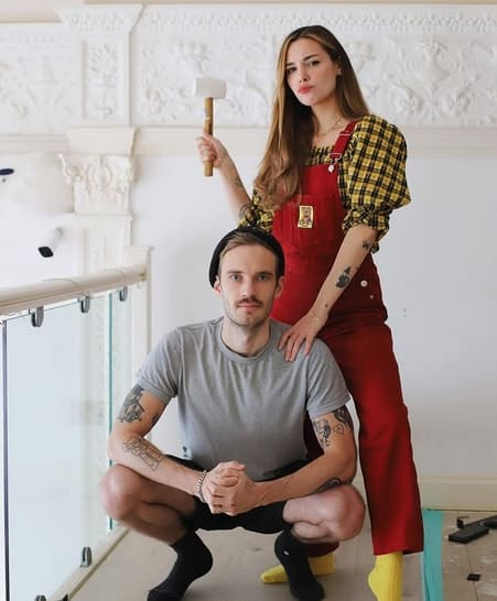 Marzia and PewDiePie
