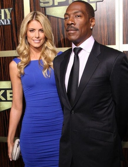Paige Butcher and Eddie Murphy