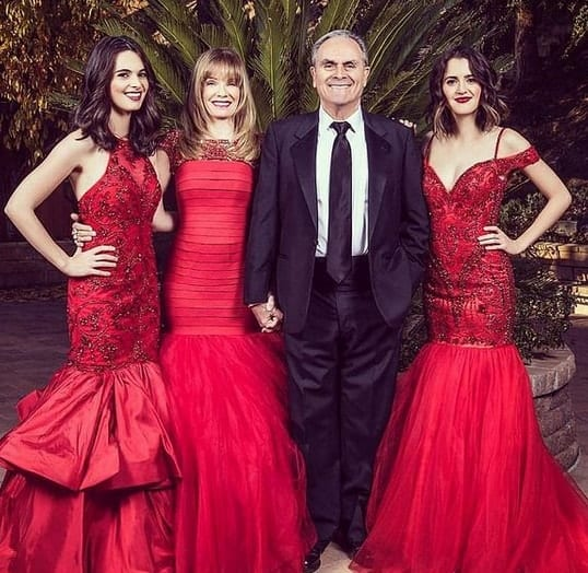 Vanessa Marano and Laura and Family