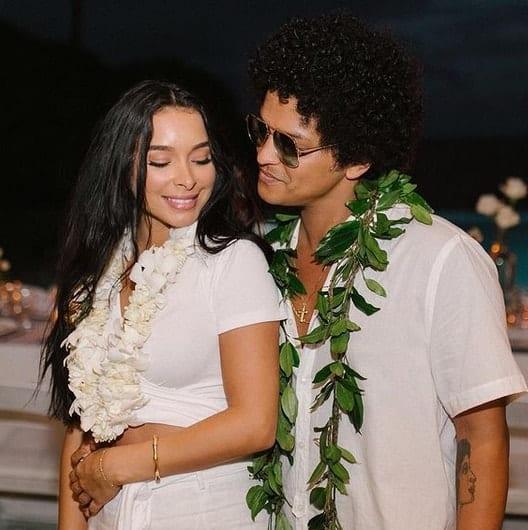 Jessica and Bruno Mars