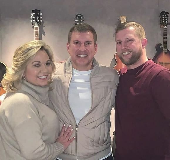 Kyle, Todd Chrisley and Teresa Terry