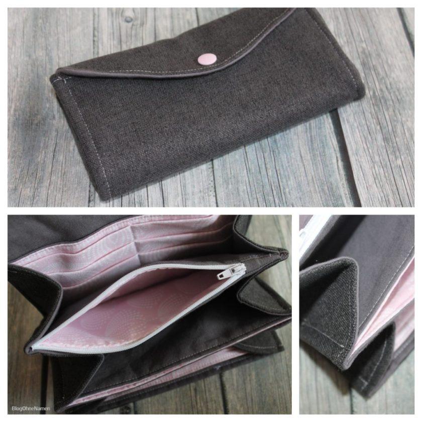 Taschenlieblinge selber nähen - Das Portemonnaie aus dem Buch.