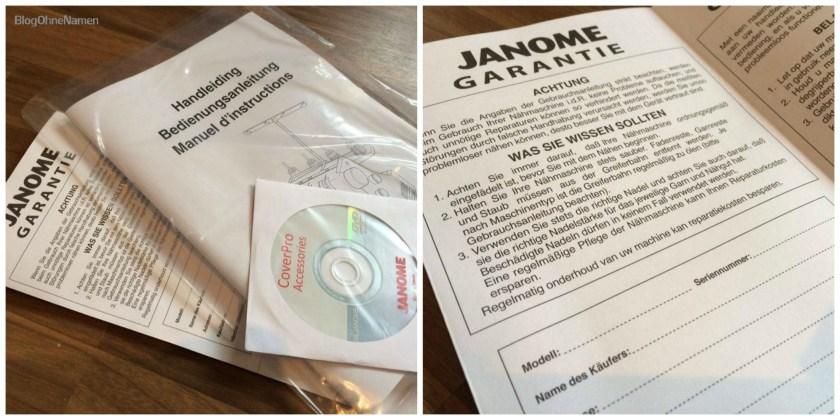 Meine Erfahrungen und Eindrücke mit der Janome CoverPro 2000 CPX