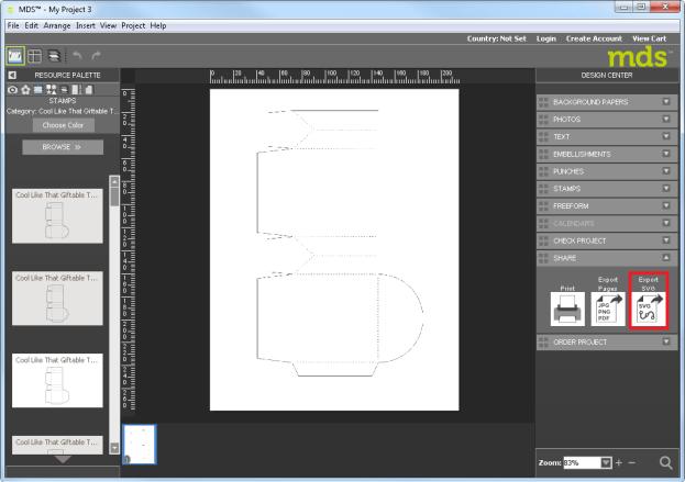 Stampin Up, Verpackung,Schachtel,Mds,my digital studio,plotter,anleitung,digital