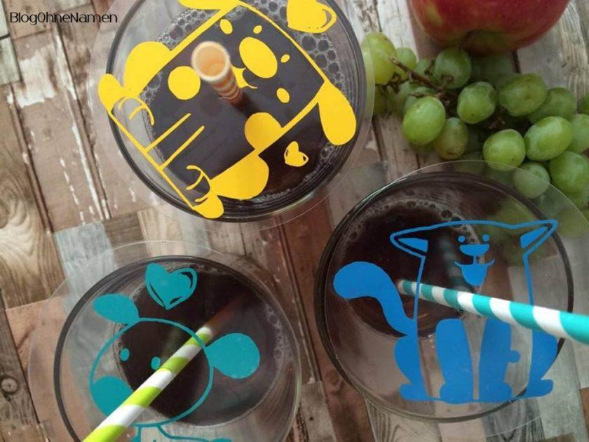 Kreativ mit Vinyl: Bierdeckel in schön. Insektenschutz für Gläser,Desserts, Schalen und andere offene Behälter. Kann man auch super als Untersetzer benutzen.