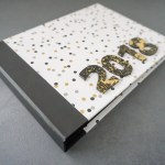 Hardcover Mini Album mit Hidden Hinge Bindung