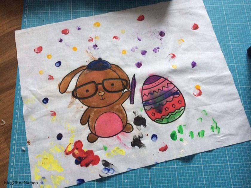 """Ideen für den Plotter: """"Bügelbilder"""" mit Textilstiften oder Textilfarbe ausmalen."""