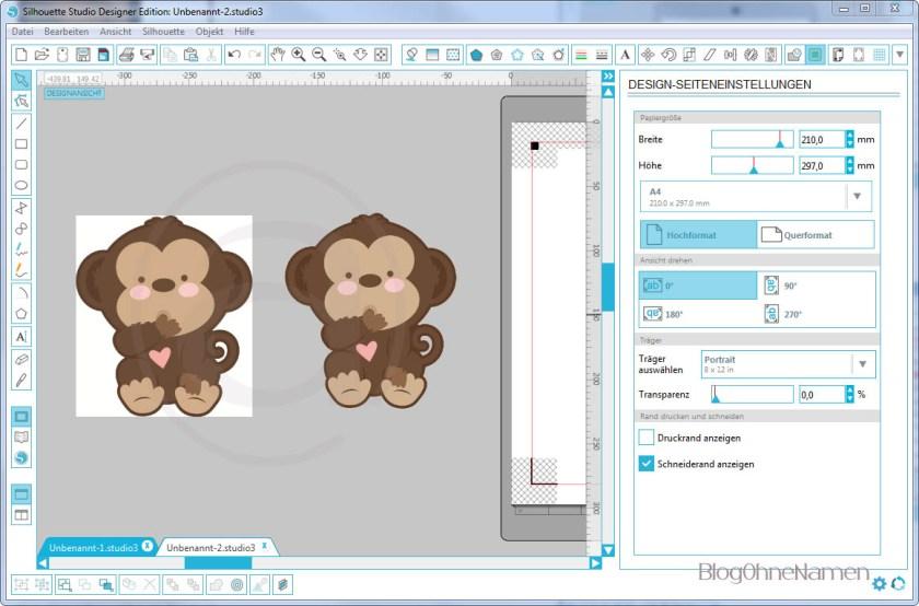 Wie funktioniert Print and Cut - Am Beispiel bedruckbare Bügelfolie