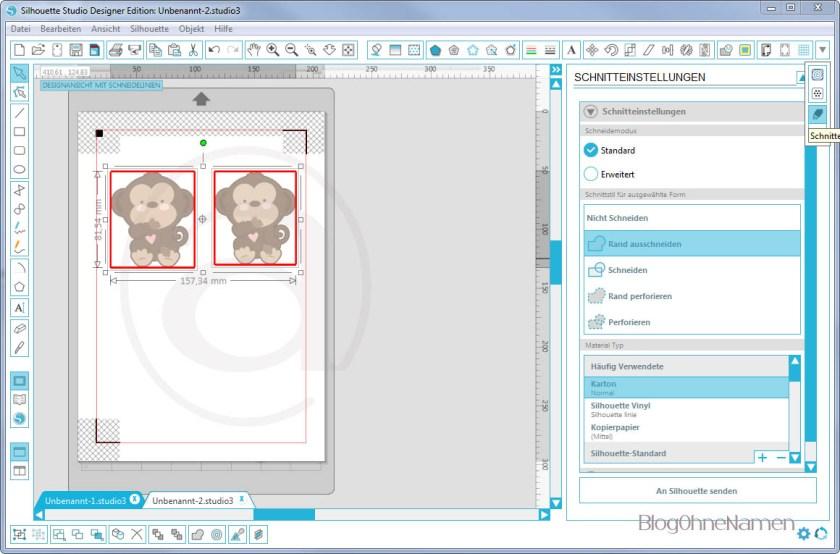 Wie funktioniert Print and Cut - Am Beispiel bedruckbare Bügelfolie1