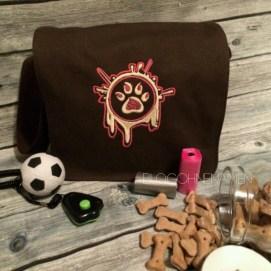 Nähideen für Hunde, Nähen für Hunde,Reisetasche für Hunde, Taschen besticken, Canvas Rohlinge besticken, Sticken,nähen