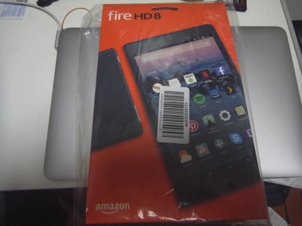 新Fire HD 8タブレット発売。性能強化でType-C ...