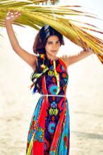 Shruti Hassan ShoppersStop- Colourful Dress (2)