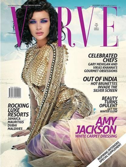 Amy Jackson in Verve Magazine