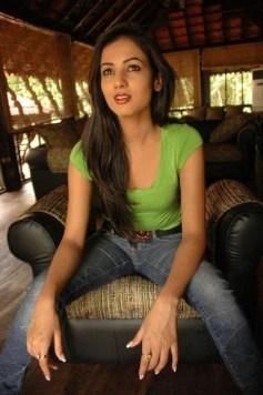Sonal-Chauhan-Tight-Green-Top-Denim-Jeans (122)