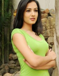Sonal-Chauhan-Tight-Green-Top-Denim-Jeans (14)