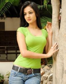 Sonal-Chauhan-Tight-Green-Top-Denim-Jeans (25)
