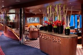 Ocean Bar - Deck 2 Midship Starboard Koningsdam - Holland America Line