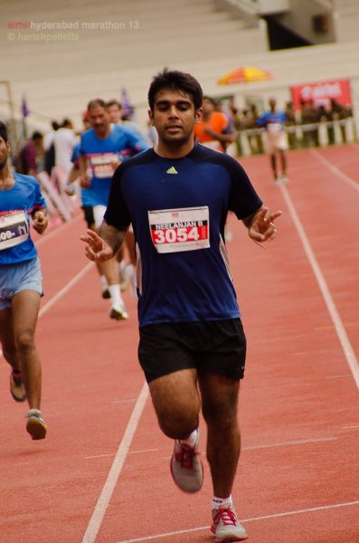 Race Report - Airtel Hyderabad Marathon 2013