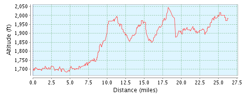 Elevation Profile - Race Report - Airtel Hyderabad Marathon 2013