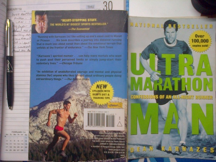 Book Review – Ultra Marathon Man by Dean Karnazes
