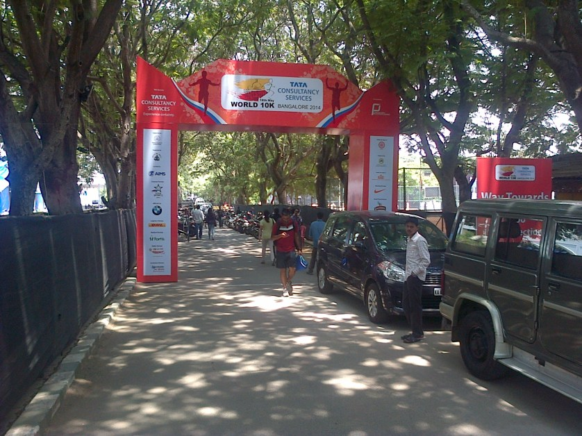 Race Day Pictures – TCS World 10k Bengaluru – 18 May 2014
