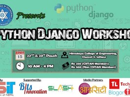python-django-workshop-in-nepal