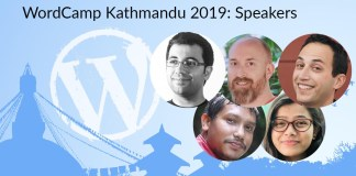 wordcamp kathmandu 2019 speakers
