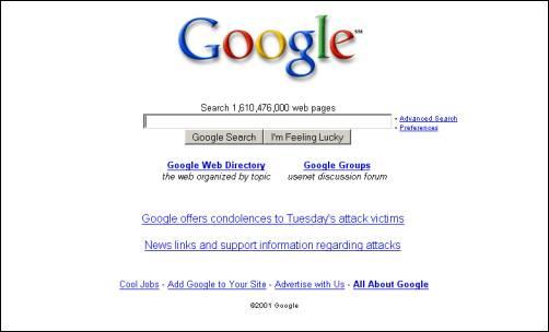 Google2001